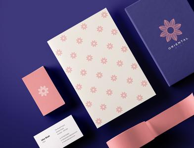 Oriental Mist - Stationery Design - II