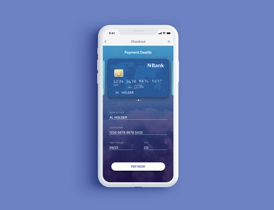 Daily Ui Challenge : Credit Card Checkout Page