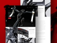 Specialized Venge Vias Desktop Landing Page - Website