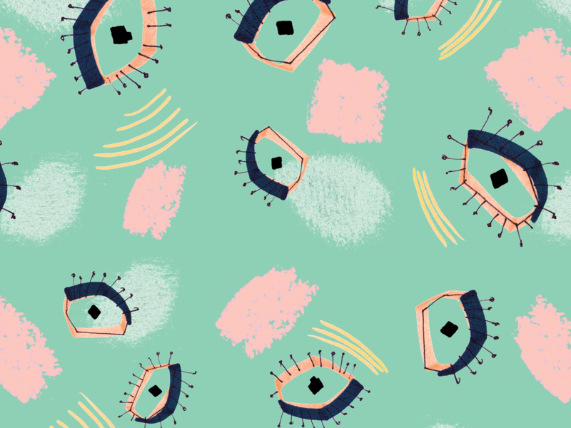 Green eye pattern