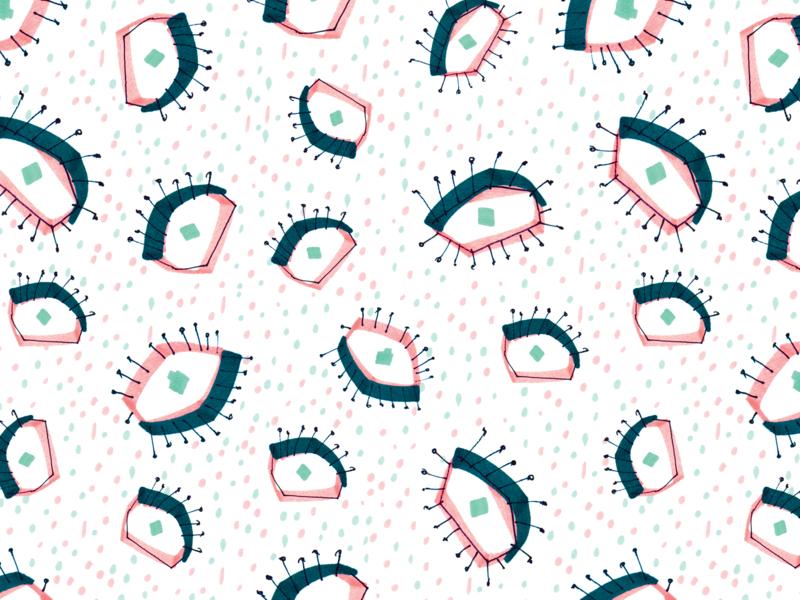 White eye pattern