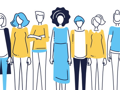 Academy Illustrations characters vector adobe illustrator branding design illustration