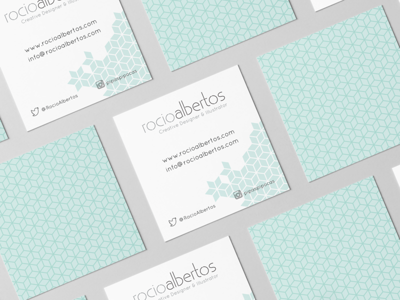 Business Cards Rocio Albertos