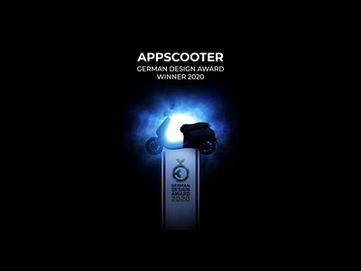 German Design Award - AppScooter - Instagram Story 3d instagram digital marketing social media scooter instagram stories motion animation after effects branding
