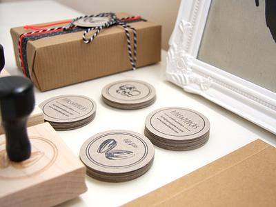 Handmade Corporate Identity handmade stamp design craftwork logo corporate identity adobe illustrator branding design