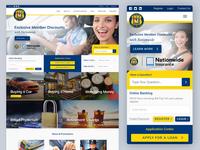 Insurance & Loan Company Website - Desktop & Mobile