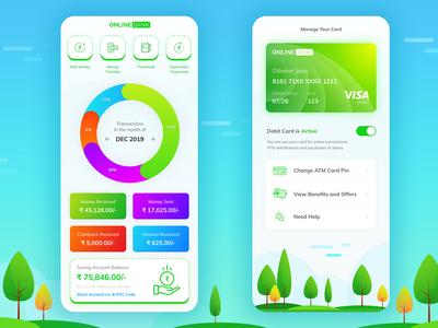 Payment Bank App Concept Design