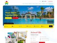 Vacation Villa & Resort Website Design