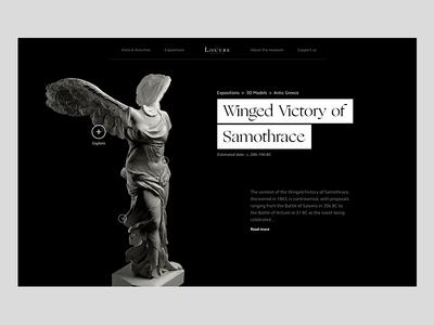 Louvre Museum - Exploring sculptures