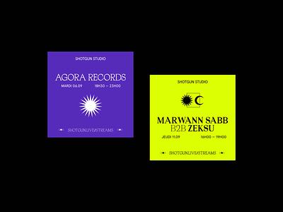 Shotgun Rebranding Pitch - Track 02 design branding and identity branding music shotgun vinyle icons prints website event merch