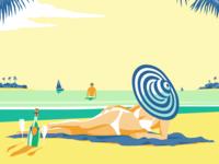 Bahamas Travel Poster Series