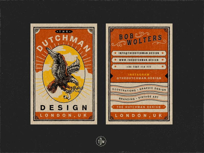 The Dutchman Business Cards 2020