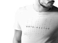 Art director t-shirt design