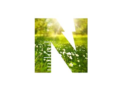 Natek Energy Logo Design gas meters renevable design logo energy natek