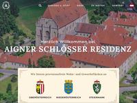 Aigner Schlösser Residenz Homepage