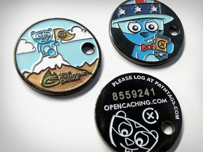 Geocaching coins for OpenCaching.com