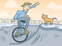 Unicycle (with Cat)