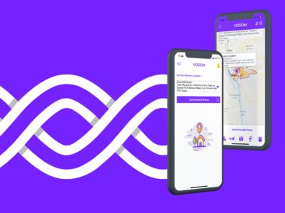 VOOOM - Delivery App