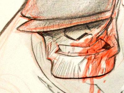 Goon goon eric powell haylee herrick col-erase graphite red blood
