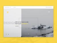 Website for design agency