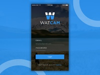 Login page for Watcam