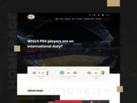PSV official website