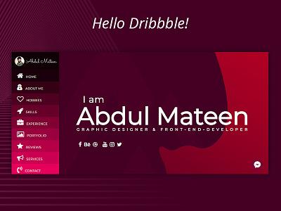 Hello Dribbble hello dribbble invites portfolio uiux graphic design web design