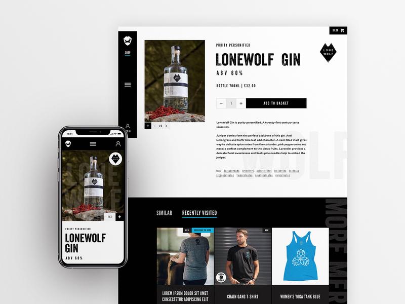 BrewDog | Product page product page product header website web design uidesign ui design ui visual design layout design