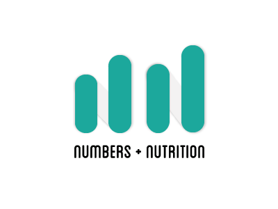 Numbers & Nutrition Logo data type logo