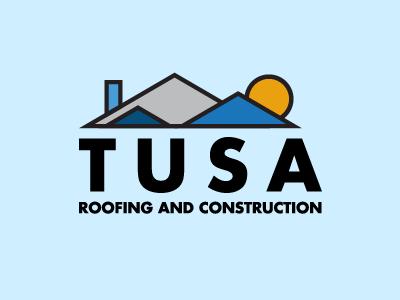 Tusa Roofing & Construction construction logo