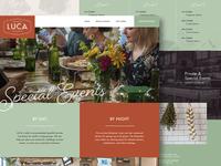 Luca Italian Kitchen Website