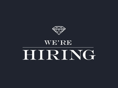 We're Hiring hiring ux ui job work