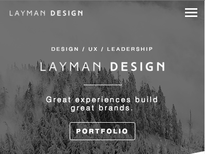 Portfolio Redesign menu ux ui website portfolio