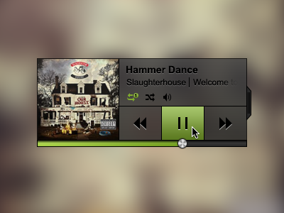 Another Music Player music player debut ui