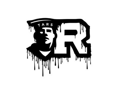 Dripping Mascot Logo
