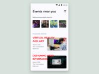 #DailyUI 070 - Event Listing