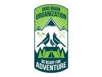 Bird Brain Adventures Badge