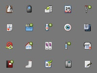 Medical Application Icons