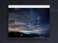 Embrace.io Website
