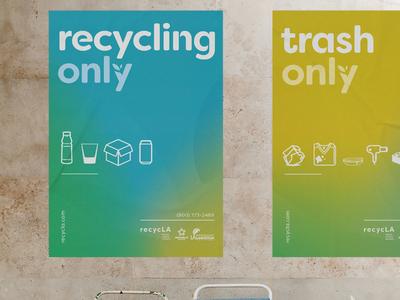 RecycLA Brand Identity