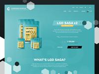 LGD Saga Product Page