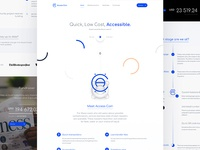 Access Coin — Landing Page