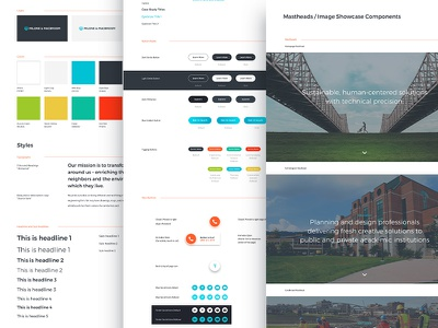 Style Sheets engineering components web design redesign design system ui ux sketch website style sheet