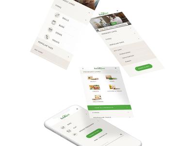 Mobile Menu pets mobile menu menu mobile navigation mobile sketch web design ux ui design