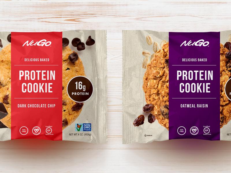 Unused packaging concept cookies food packaging packaging design cookie protein product marketing print concept