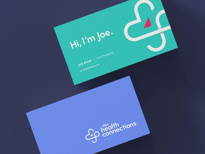Business Card Design infinity heart logo design logo health branding business card design