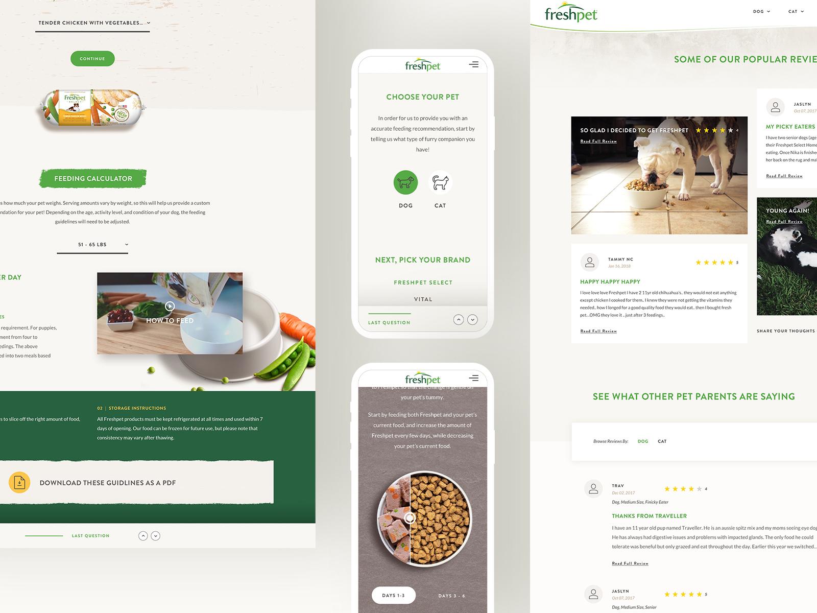 Freshpet redesign
