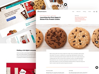 Product Launch Case Study vegan productlaunch agency casestudy protein cookies custompackaging packagingdesign packaging