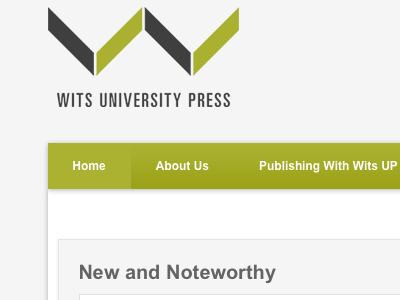 Press header logo menu nav green