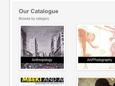 Catalogue thumbnail shadow
